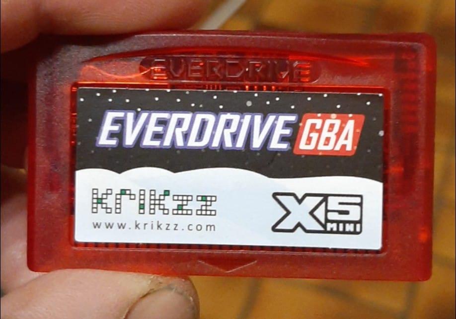 Everdrive GBA